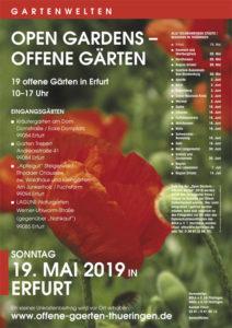 Erfurt Offene Garten Open Gardens